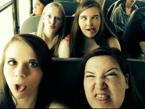 Some of the best moments happen on bus rides