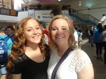 Rebekah and Emily