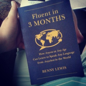 I was also super excited to get Benny Lewis' new book! Check out his awesome language learning blog of the same name!