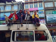 nepal bus