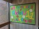 My first bulletin board!