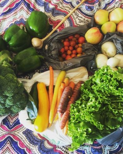 Market fresh produce!