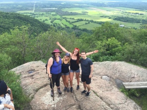 I met these friends just two days before our adventure to Gatineau Park